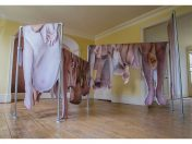 Alix Marie / Hanged, Hung, Numb, installation view of Ichor