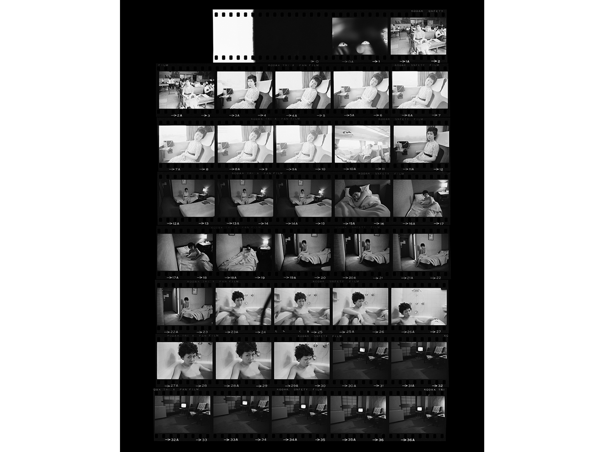 """""""Sentimental Journey ― The Complete Contact Sheets"""""""