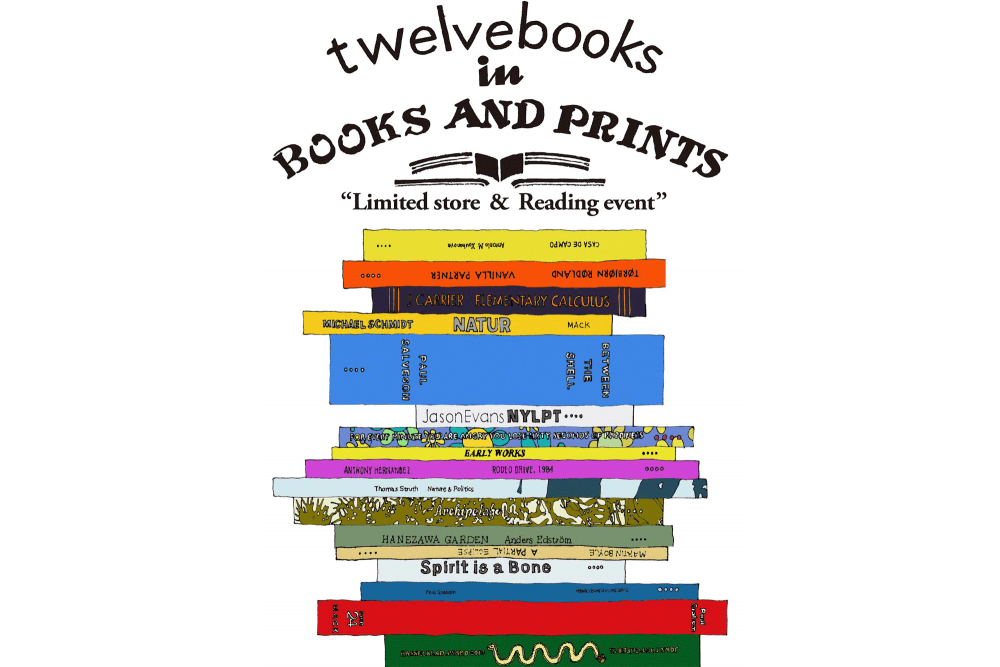 twelvebooks in BOOKS AND PRINTS-Limited Store & Reading Event-