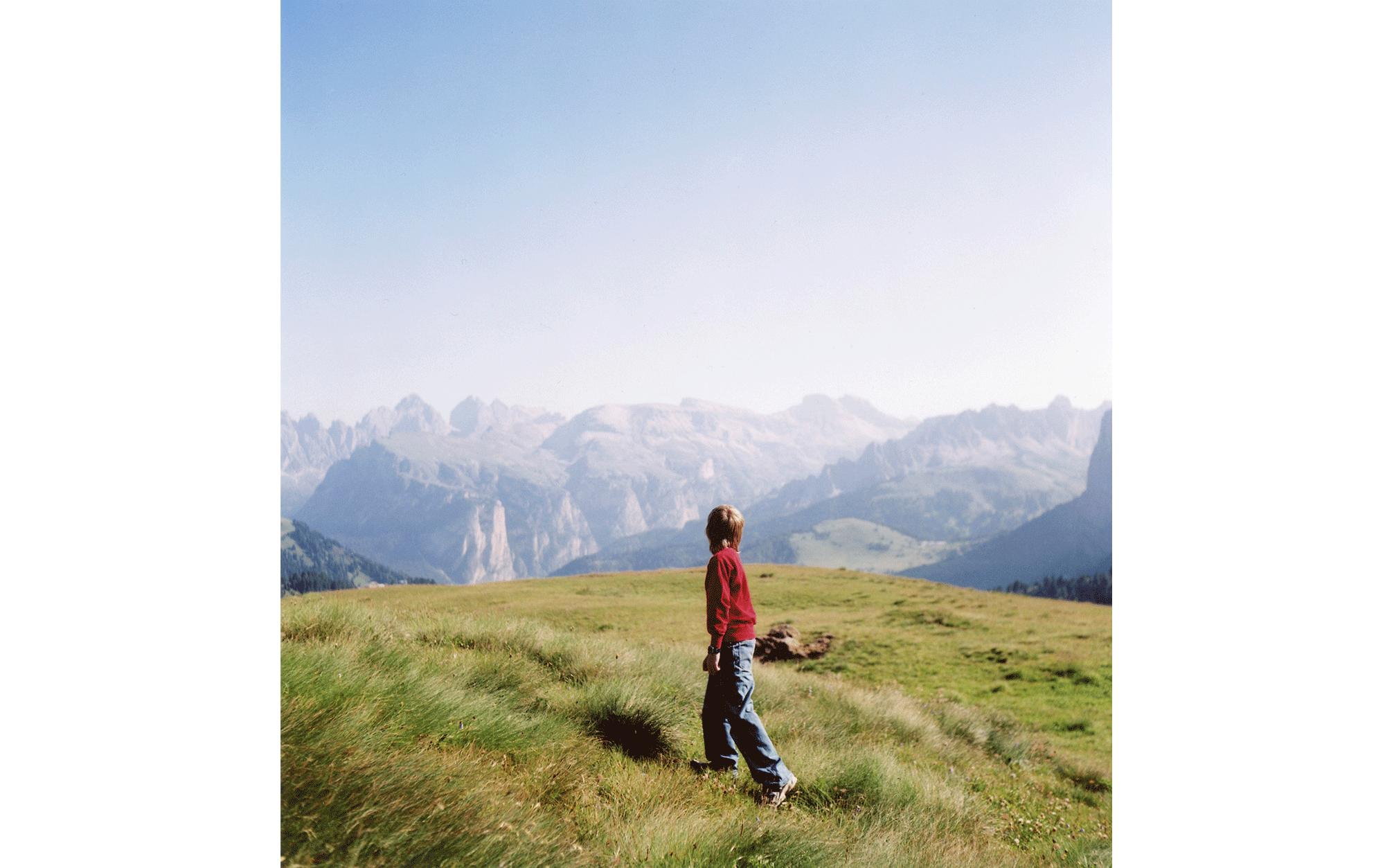 イタリアードロミテ渓谷