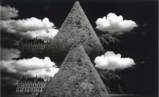 「眺めの彼方 1970 - 2002」「Château de Sceaux Double Vision - Paris 2000 - 2002」〈天〉より
