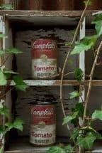キャンベルスープ、空き缶