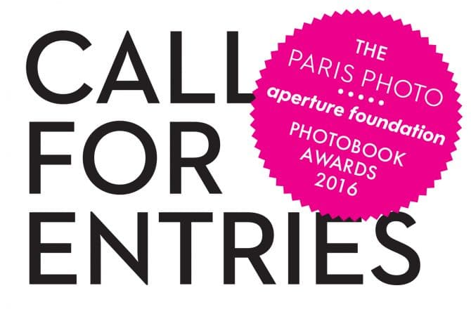 The Paris Photo-Aperture Foundation PhotoBook Awards 2016