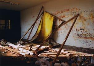 Masato Kobayashi, Unnamed #27, 2002, oil, canvas, wooden frame photo by Shizuka Kobayashi,