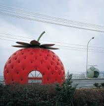 フルーツバス停(長崎県諫早市小長井町)