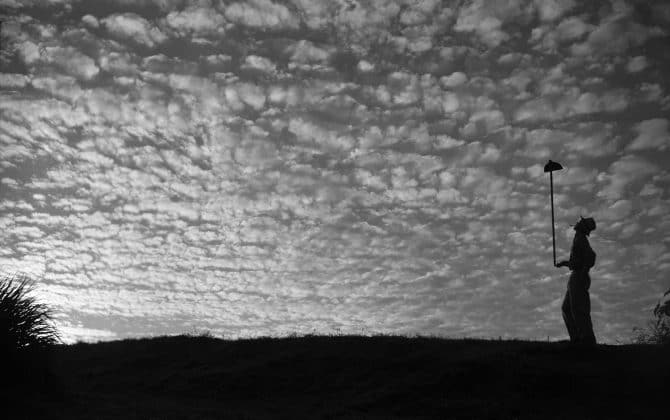 朝の雲、パラナ州テラ・ボア、1952年