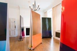 展示風景『Generated Images』(大和日英基金ジャパンハウスギャラリー、ロンドン、2016年)