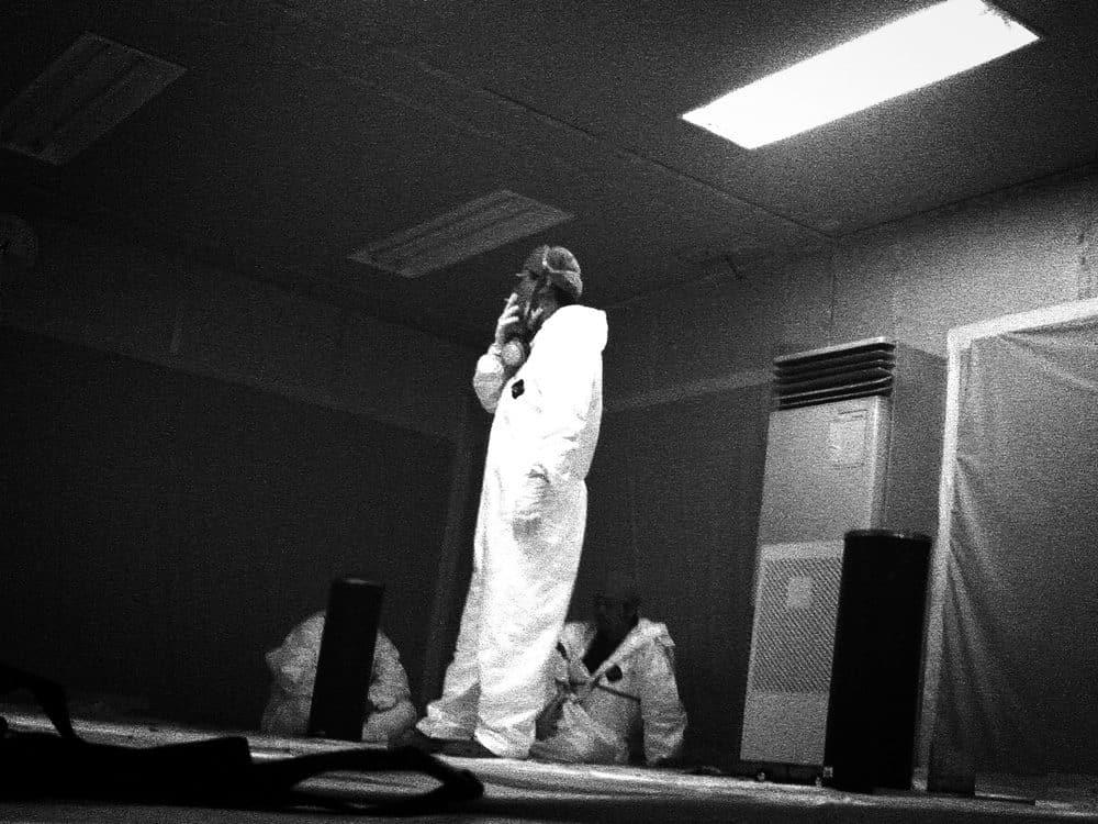 『Reset Beyond Fukushima』(Lars Muller Publisher、2012年)より原発内部をトイカメラで撮影した写真
