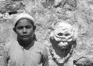 《トゥルムのマヤ人の少年》1943年