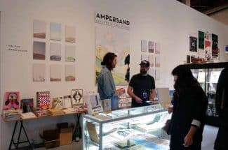 Ampersand Galleryのブース