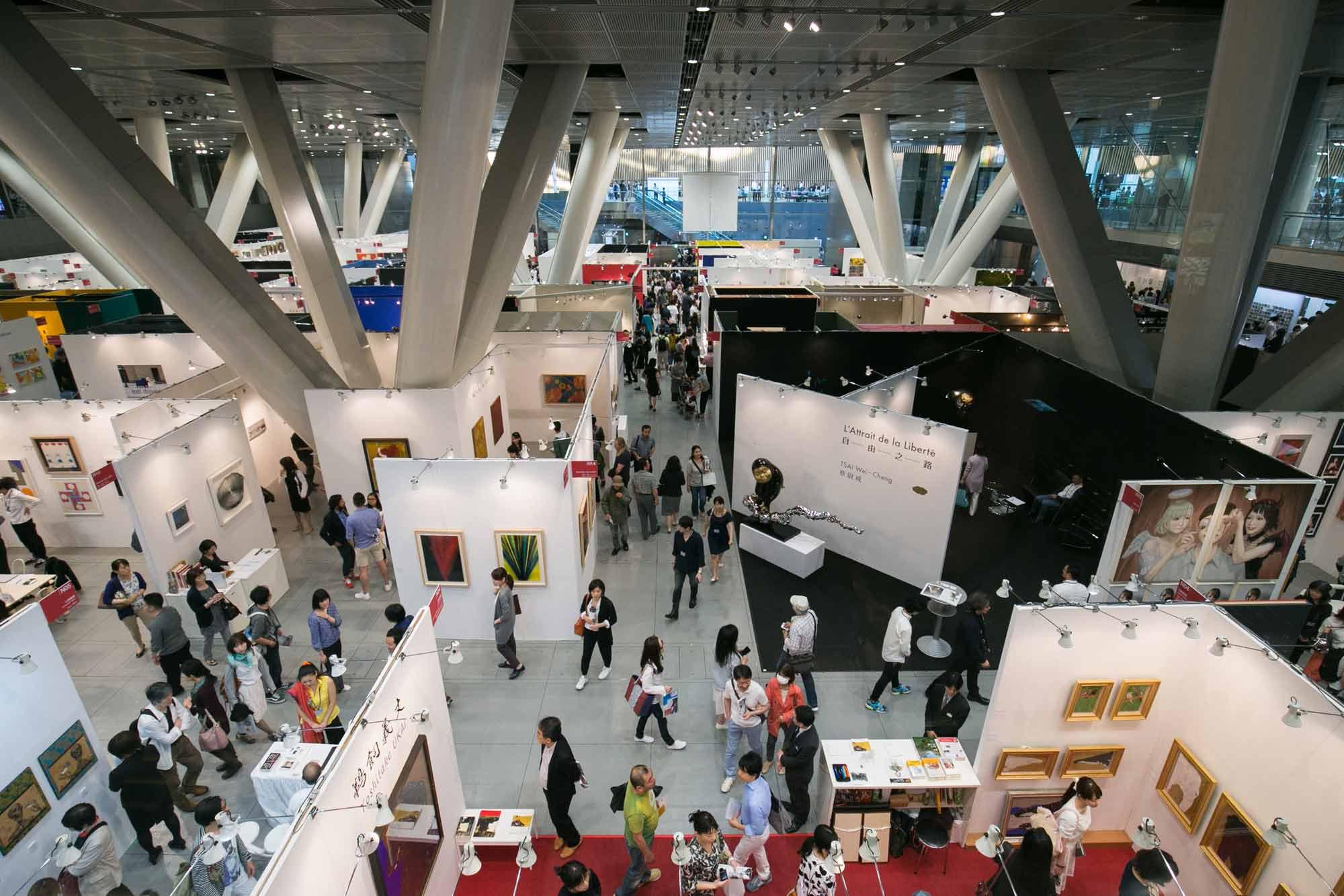 アートフェア東京2016 会場風景