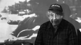 Photo of Robert Frank by Lisa Rinzler, copyright Assemblage Films LLC