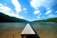 仁科三湖エリアの木崎湖