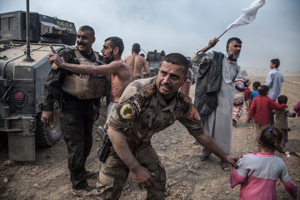 イラクの対テロ軍とISとの攻防