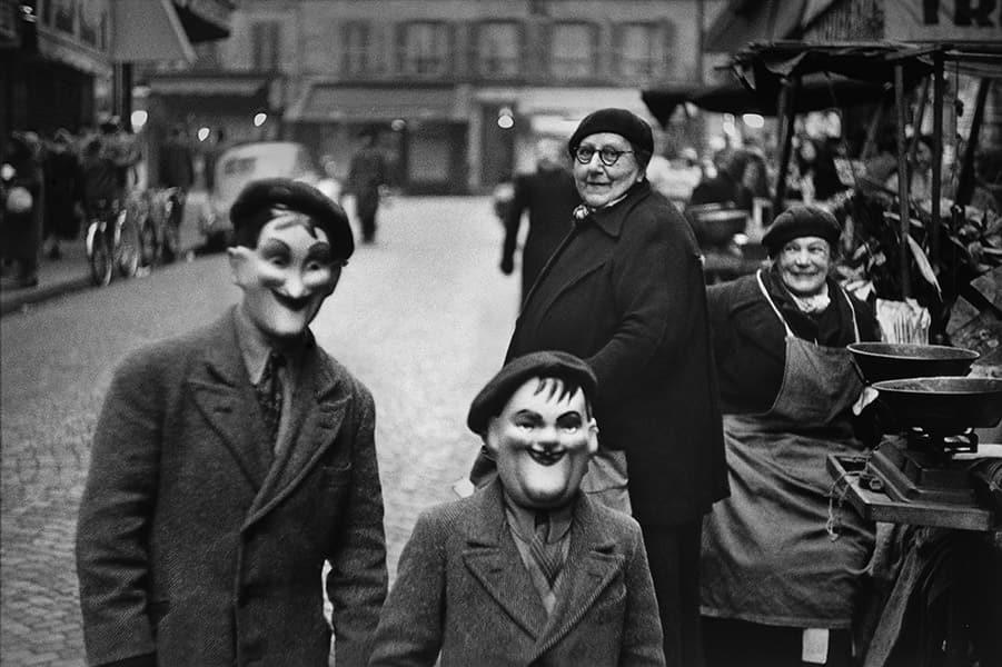 パリ、1949年 エリオット・アーウィット