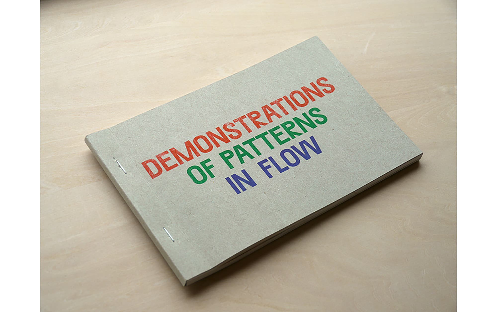 Oliver Griffin『DEMONSTRATIONS OF PATTERNS IN FLOW』
