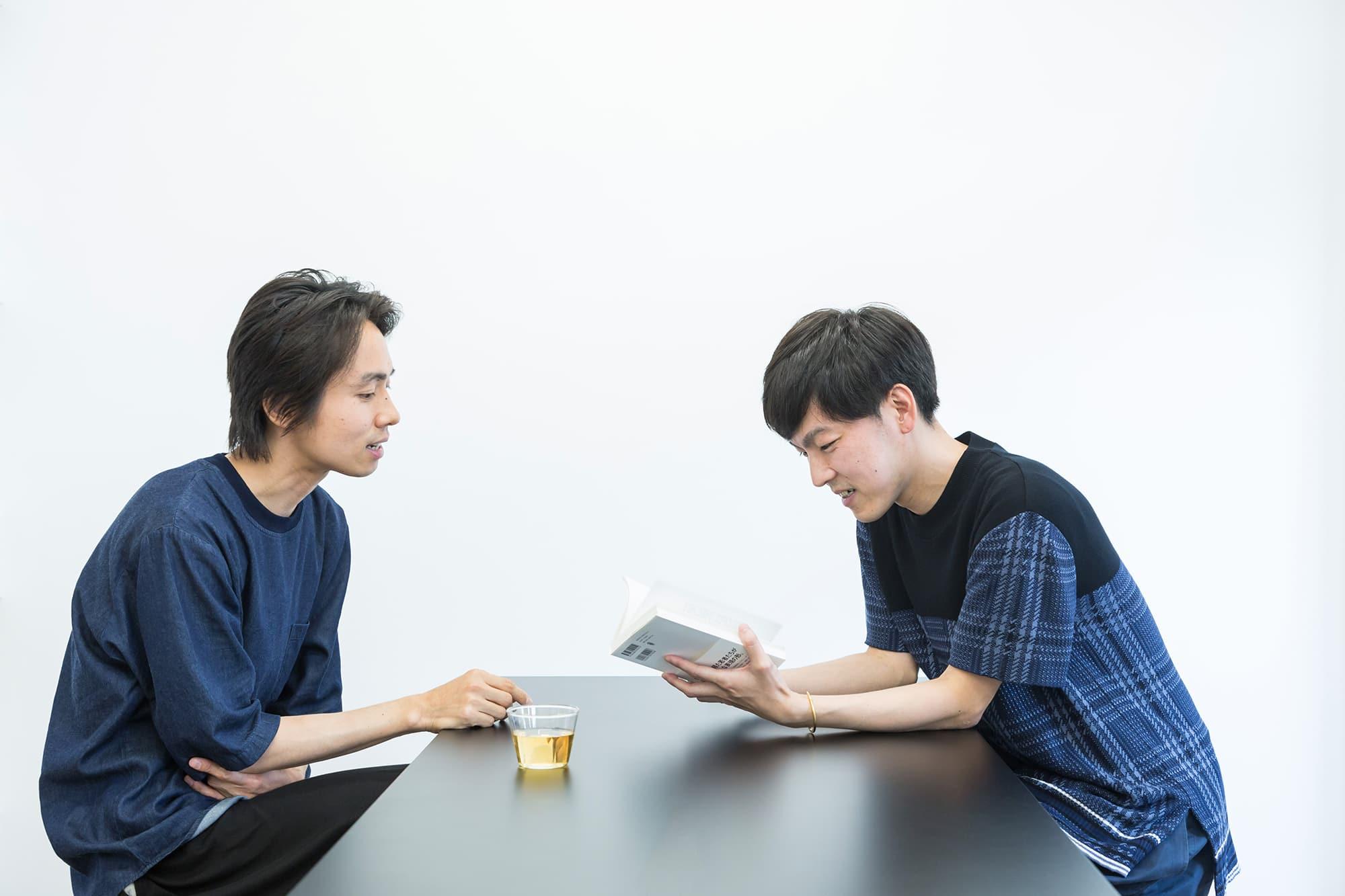 Talk Eiki Mori × Toshimitsu Kokido
