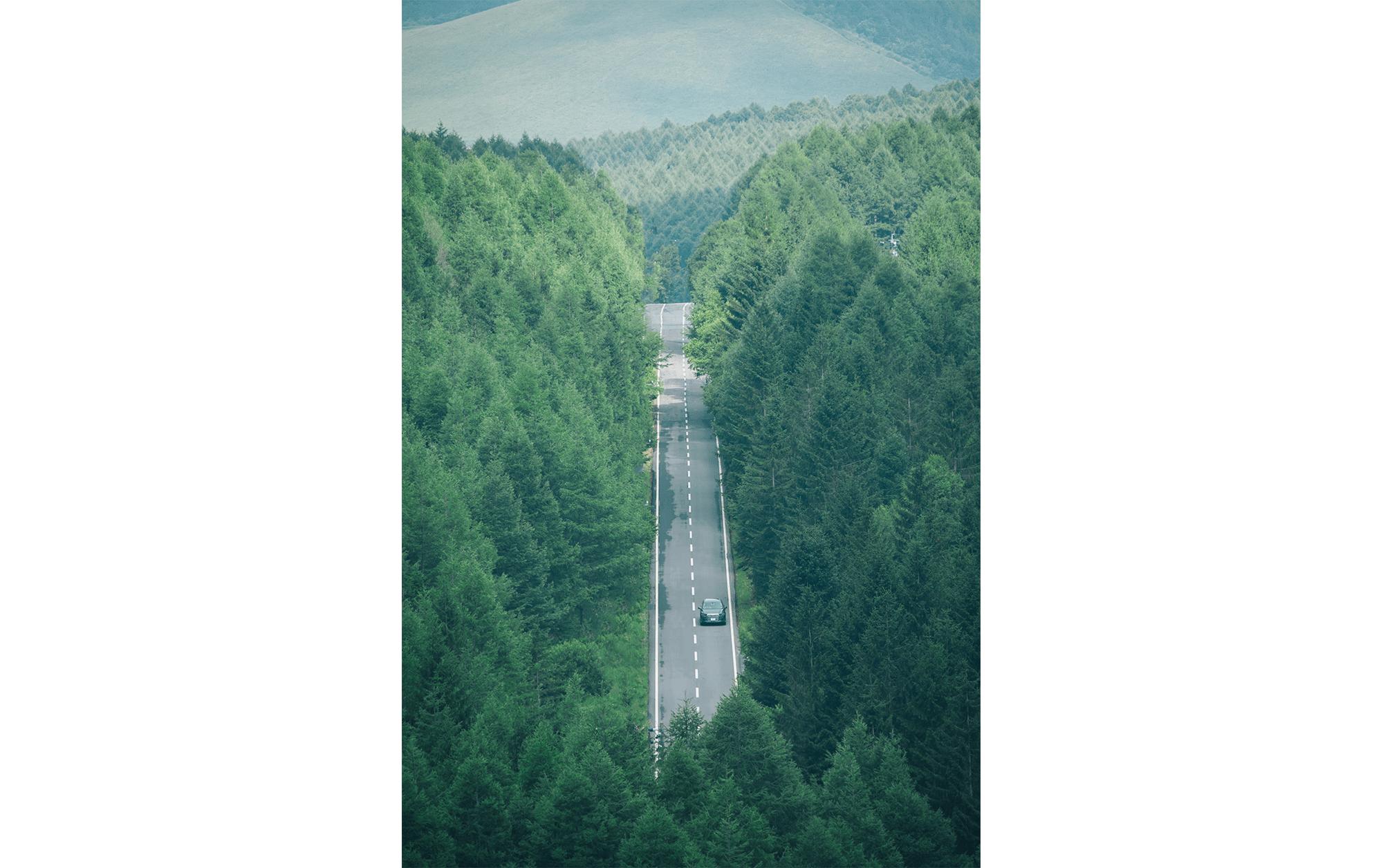 八ヶ岳、アートフォト探訪の旅 | Audi Q7
