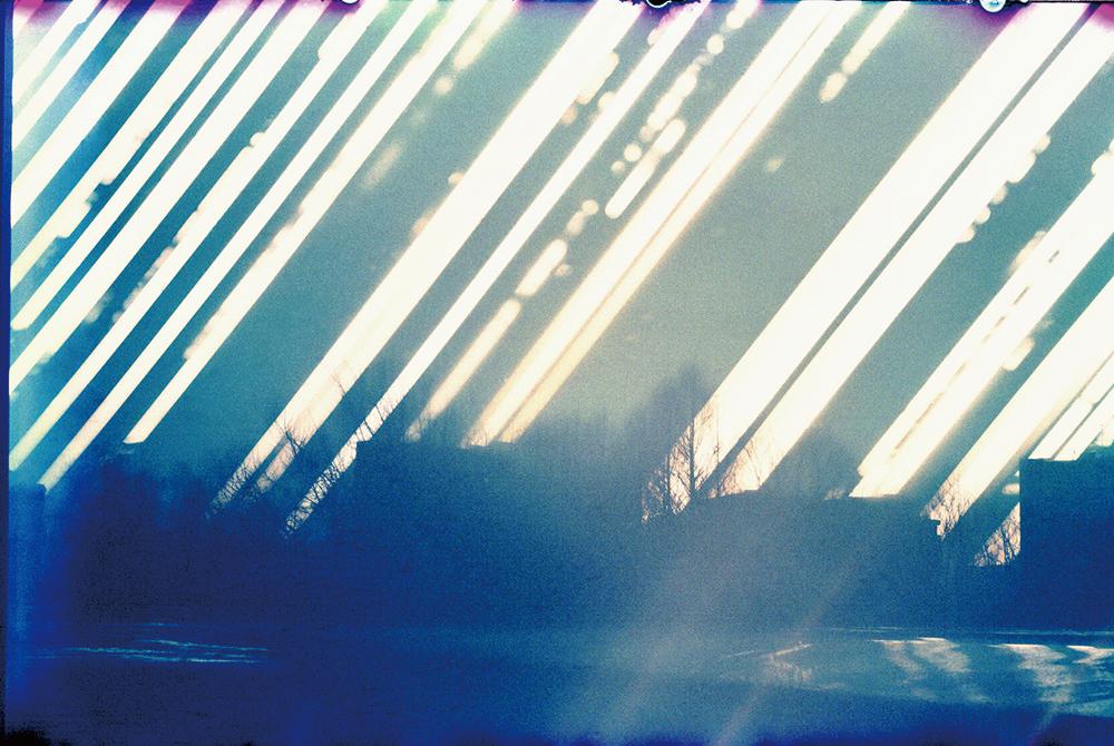 北野謙《「光を集めるプロジェクト」より:埼玉県立近代美術館屋上から(東)2015冬至-2016夏至》2017年(プリント制作)