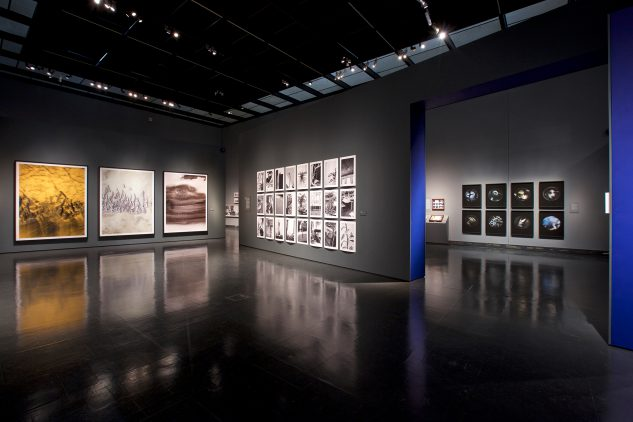 V&A(ロンドン)での展示の様子