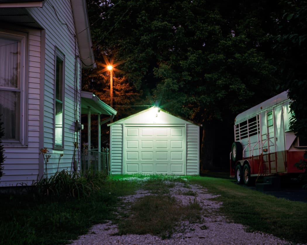 ミヨ・スティーヴンス=ガンダーラ Nightwalking, Indiana 2011 C-print
