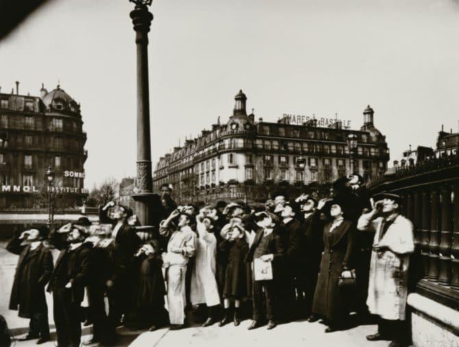 ウジェーヌ・アジェ《日食の間》1912年