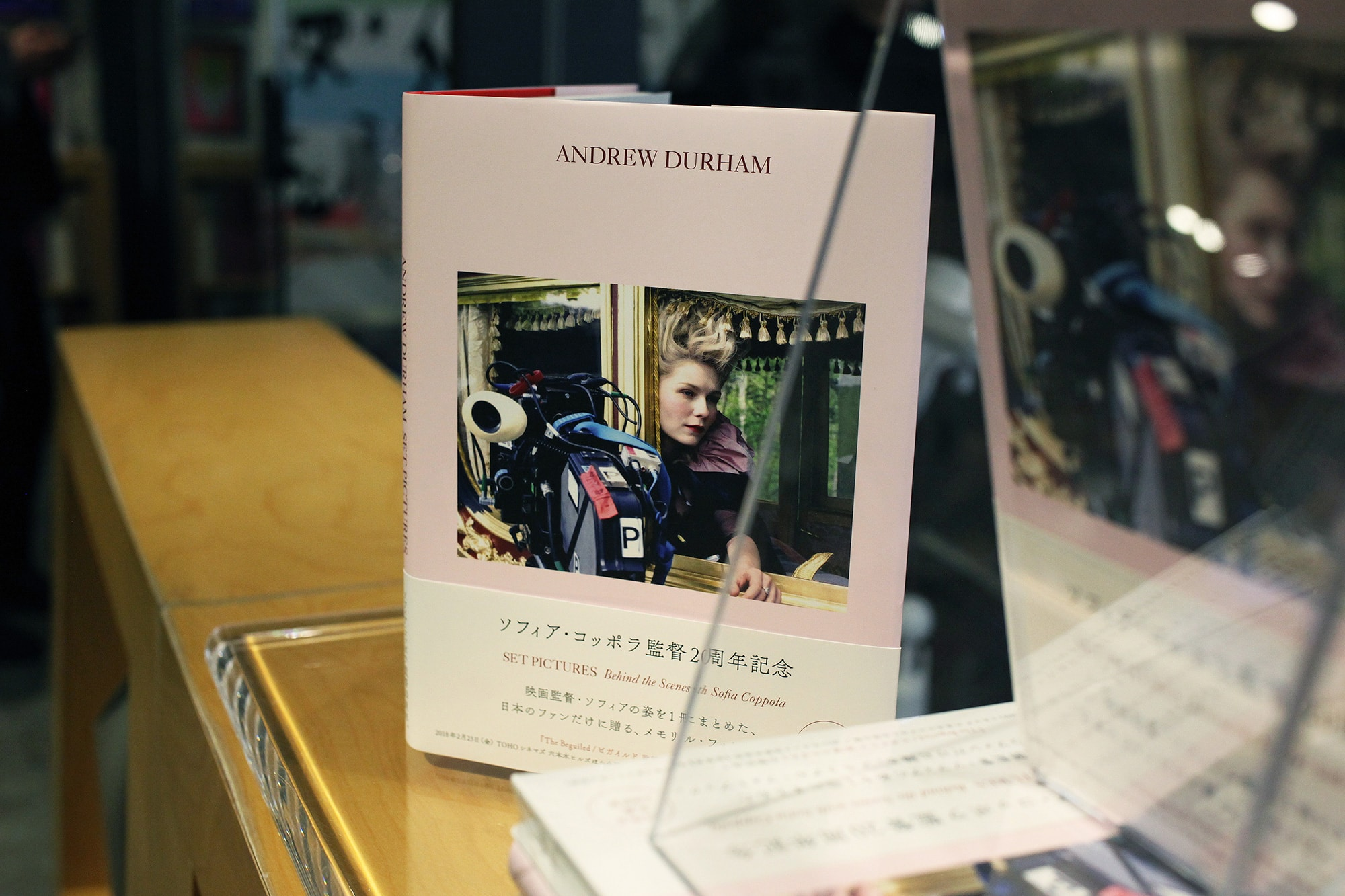 『Andrew Durham SET PICTURES Behind the Scenes with Sofia Coppola』