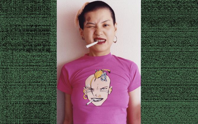長島有里枝《Tank Girl》1994年 C-print © Yurie Nagashima / MAHO KUBOTA GALLERY