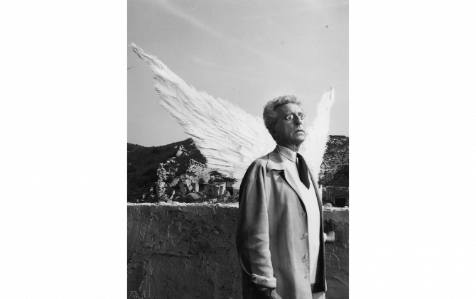 Jean Cocteau / The testament of Orpheus © Photo by Lucien Clerque  / G.I.P.Tokyo