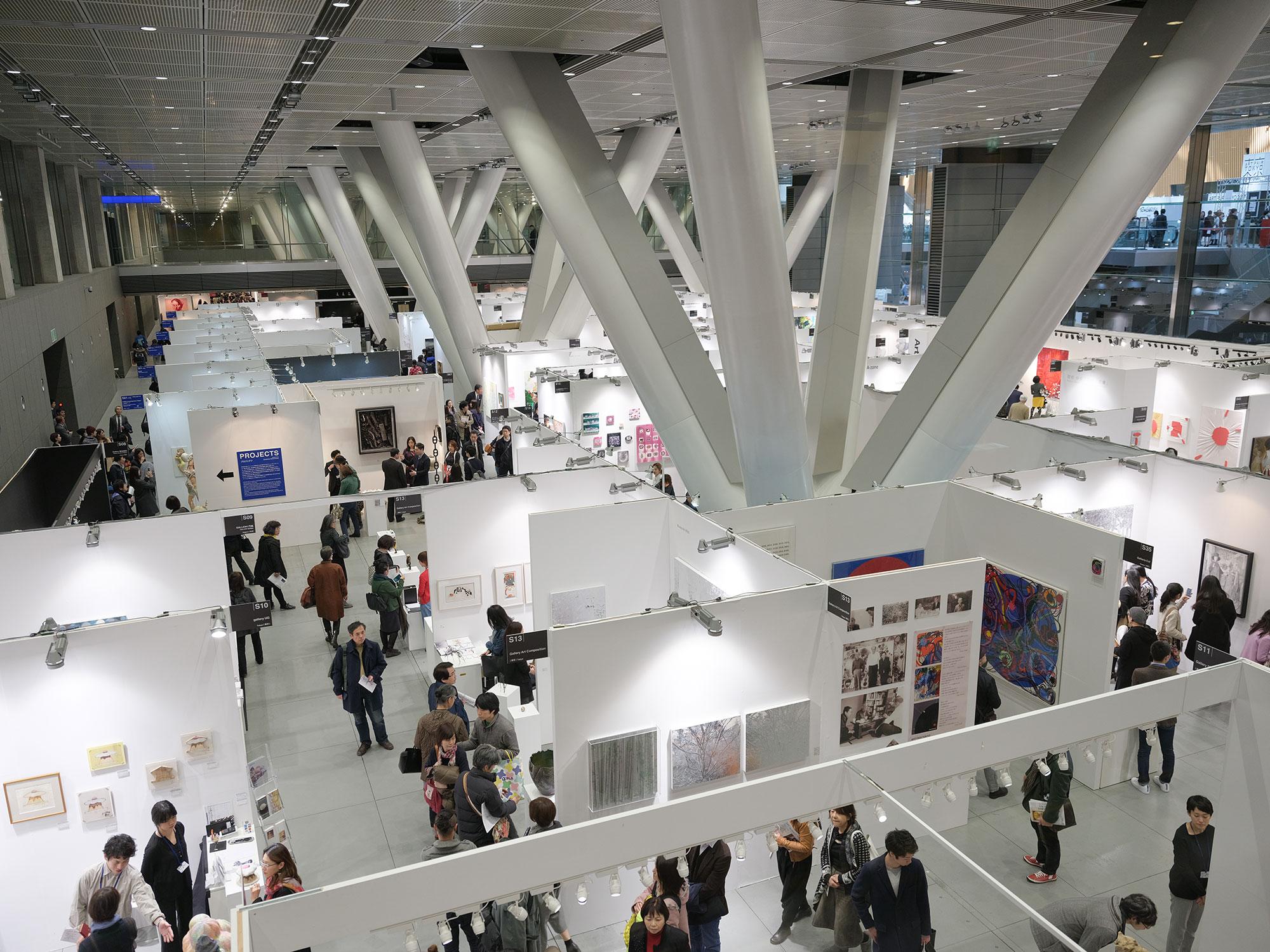 アートフェア東京2017の会場風景