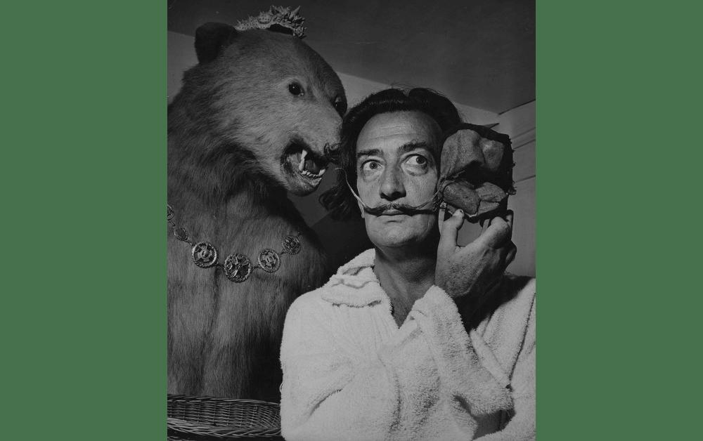 Salvador Dalí © Photo by Jean Dieuzaide