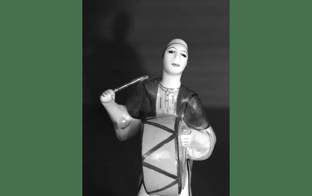Yoshie Nishikawa, 太鼓を敲く男 2016