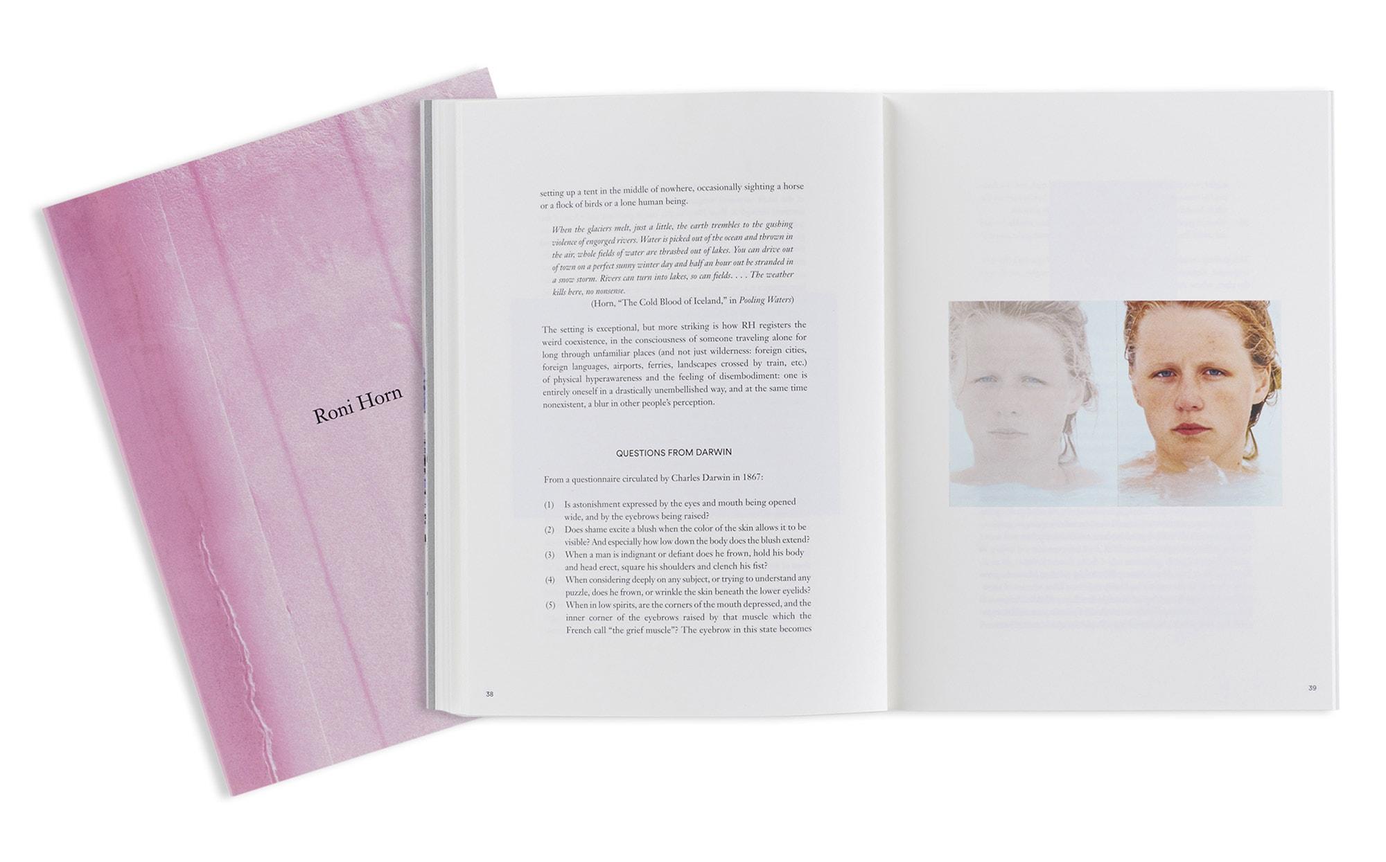 ブックレヴュー『RONI HORN』エミリー・ウェイ・ラリー、自在に領域を超越して表現する多様性に満ちたコンセプチュアル・アーティスト | RONI HORN 01