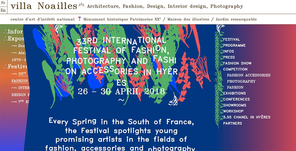 International Festival of Fashion, Photography and Fashion Accessories in Hyère Competition