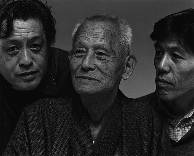 「家族の肖像」より 笠智衆 1992年