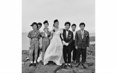 謝三泰(シェ・サンタイ)《膨湖の印象》1991年