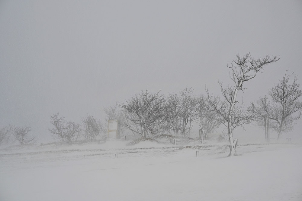 生命の気配が消えた「王国」へ:出村雅俊が撮る、誰も知らない鳥取砂丘の冬 | 出村雅俊