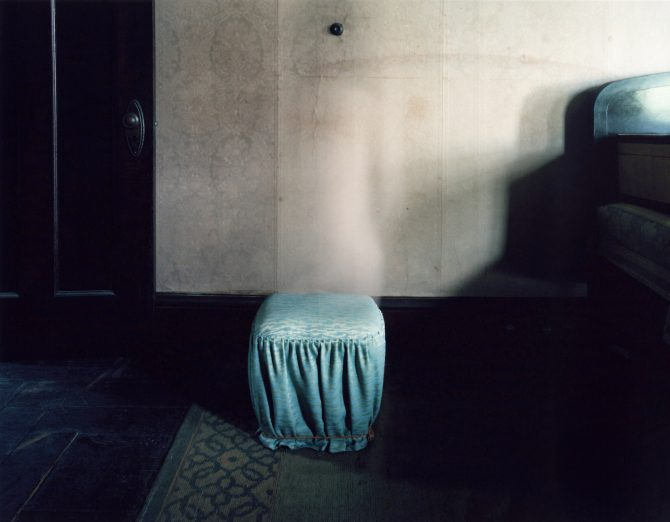 Shadow in the House_Former Yasuda House, Type C Print, 2017