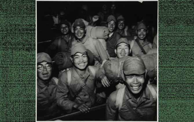 復員兵 品川駅 1946