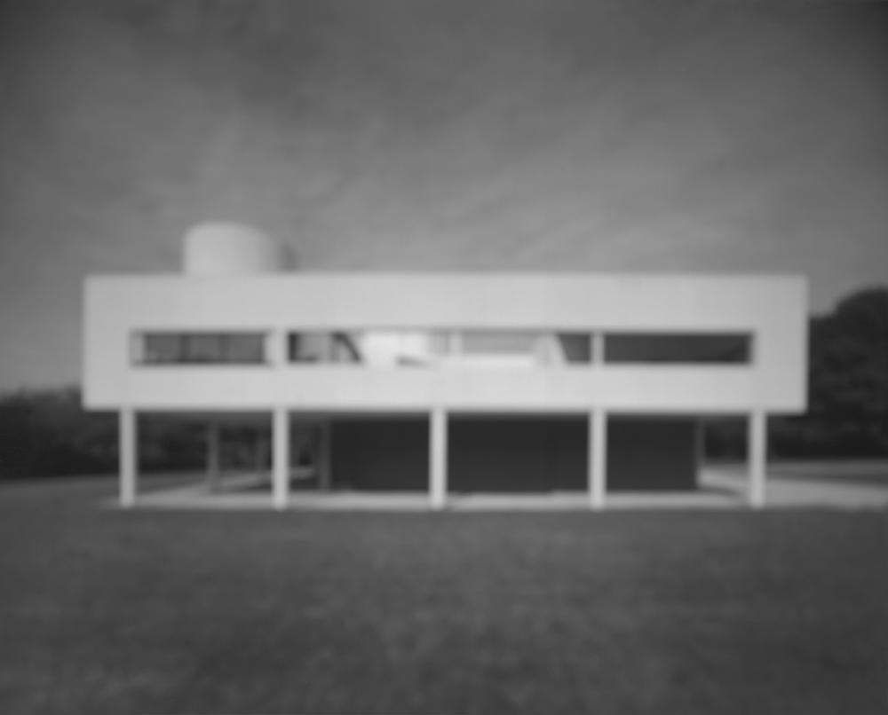 杉本博司「サヴォア邸」(建築家:ル・コルビュジエ