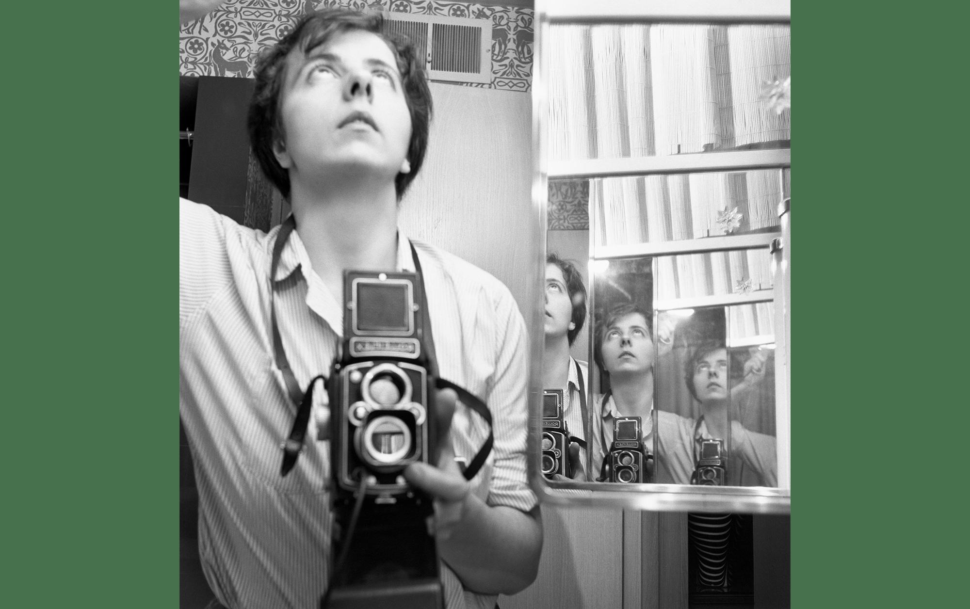 Vivian Maier, Selbstporträt, 1956