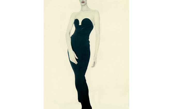 Paolo Roversi, Meg, Alaïa Dress, 1987