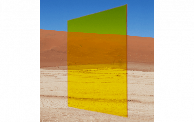Viviane Sassen: Yellow Vlei © Viviane Sassen