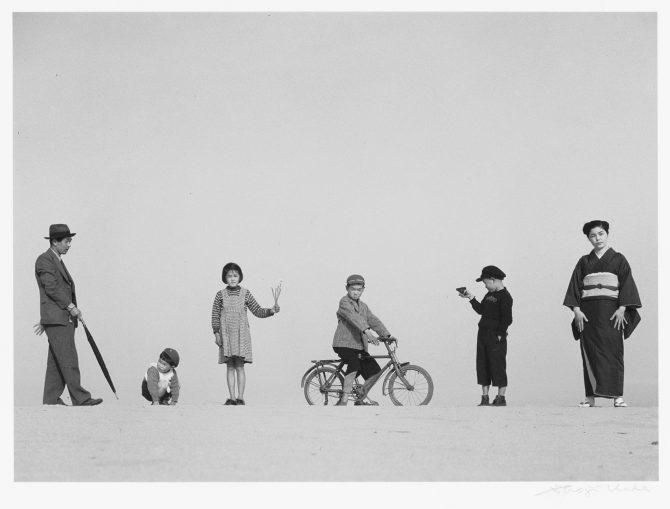 パパとママとコドモたち、1949年 ©Shoji Ueda Office