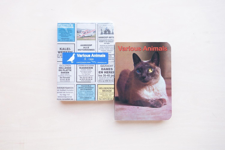 書店員がピックアップする2018年の売上ベスト写真集【UTRECHT編】 | シャンタル・レンズ『Various Animals』