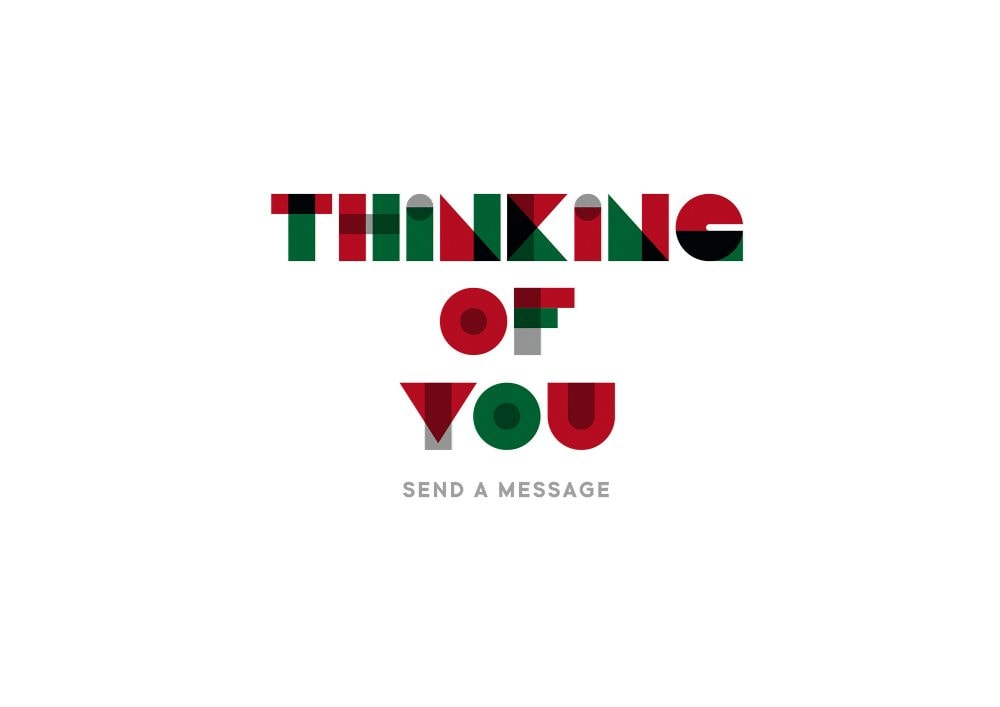 THINKING OF YOU -SEND A MESSAGE-