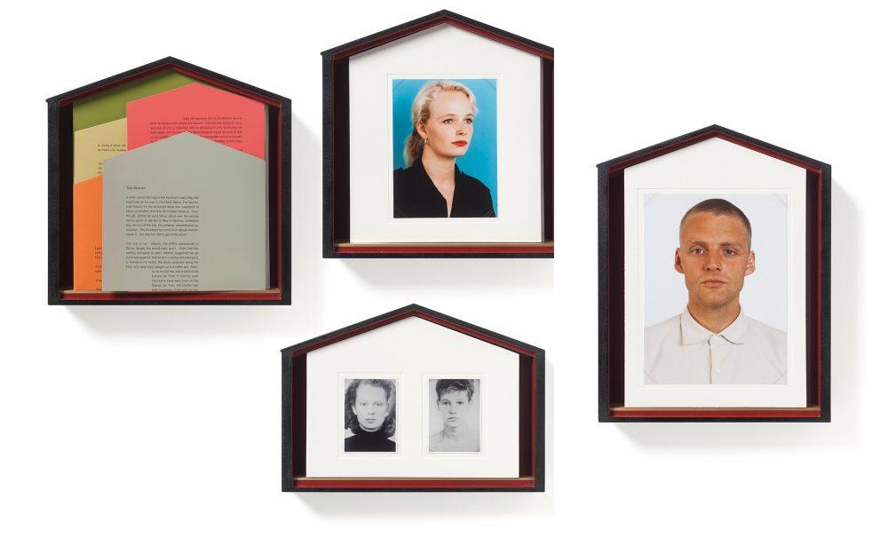 Thomas Ruff (photos), Ingo Schulze (text), Atelier Bow Wow (case), Two Women, 2012 (25 x 32 x 5 cm, 29 x 20,5 x 5 cm, 26 x 26,5 x 5 cm)