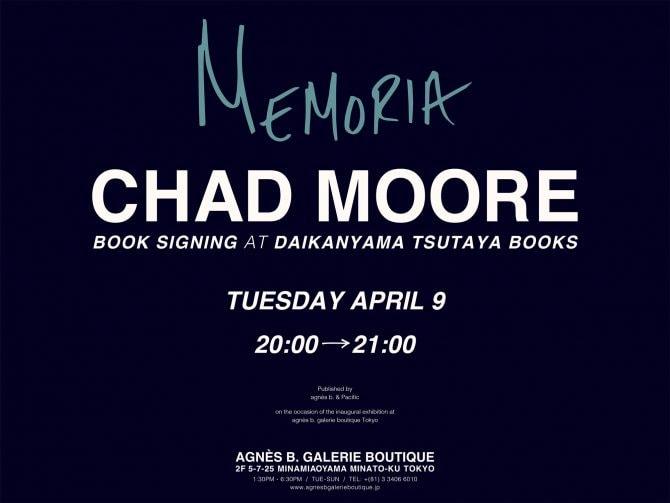CHAD MOORE 『MEMORIA』
