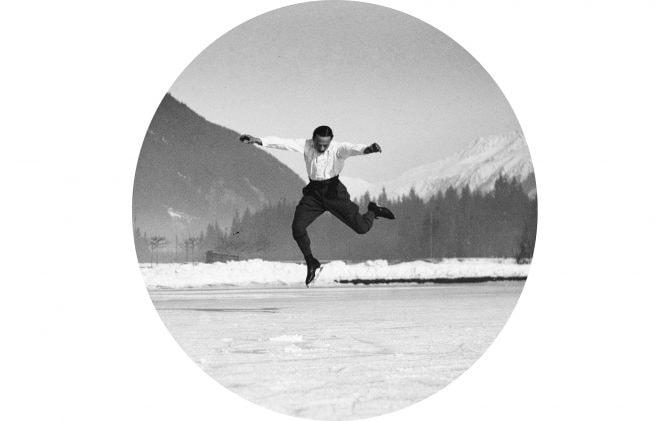 Francis Pigueron, patinoire de Chamonix, janvier 1920 Entrainement de Suzanne Lenglen, Nice, novembre 1915
