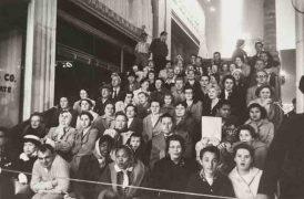 《映画のプレミア、ロサンゼルス》1955年 Movie Premiere, Los Angeles, 1955 © Robert Frank